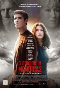 O DOADOR DE MEMÓRIAS - posterbr
