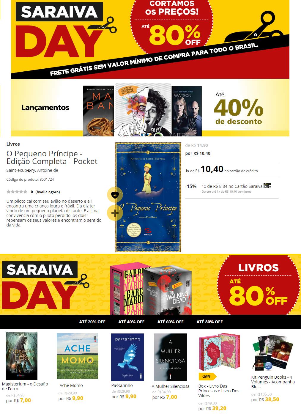 Ofertas Saraiva Day_28-02