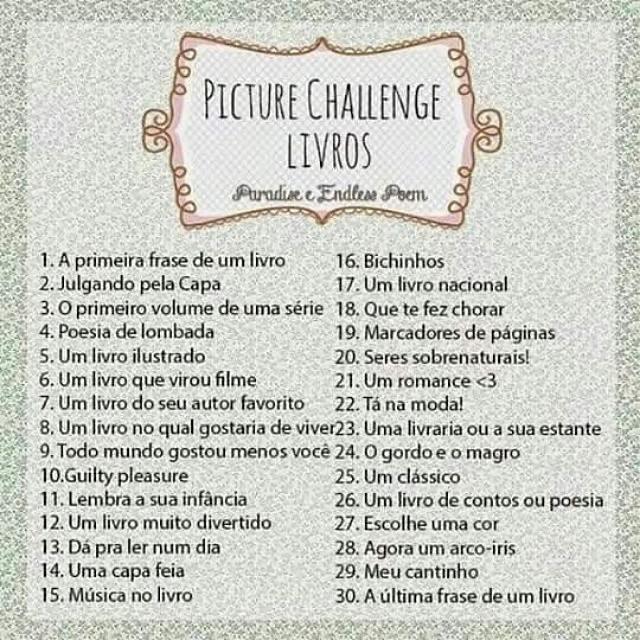 Picture Challenge Livros