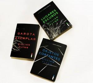 gillian flynn - capas de livros -  minha vida literaria