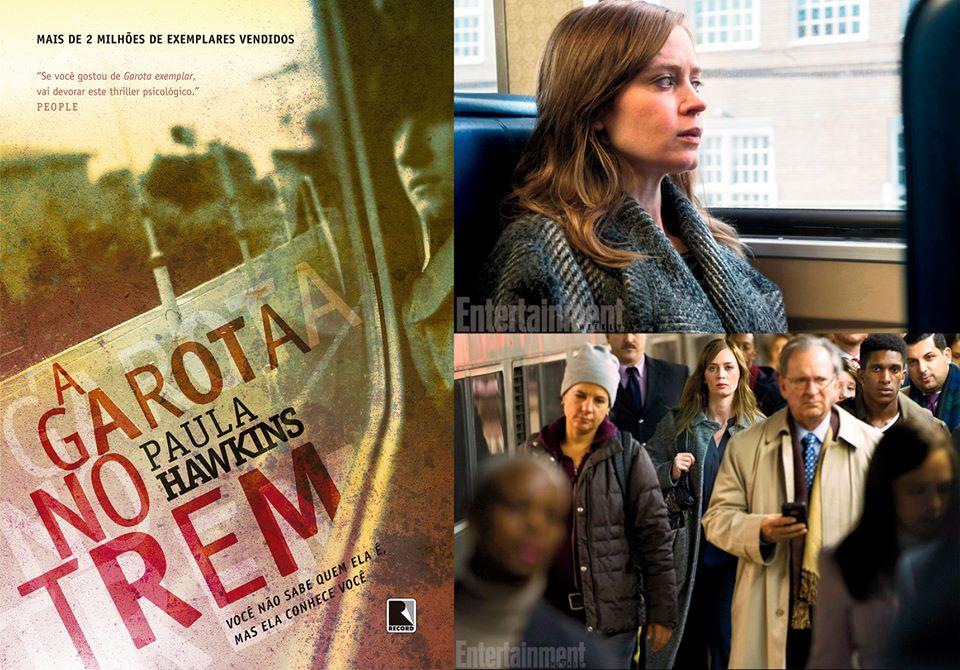 a garota no trem - minha vida literaria
