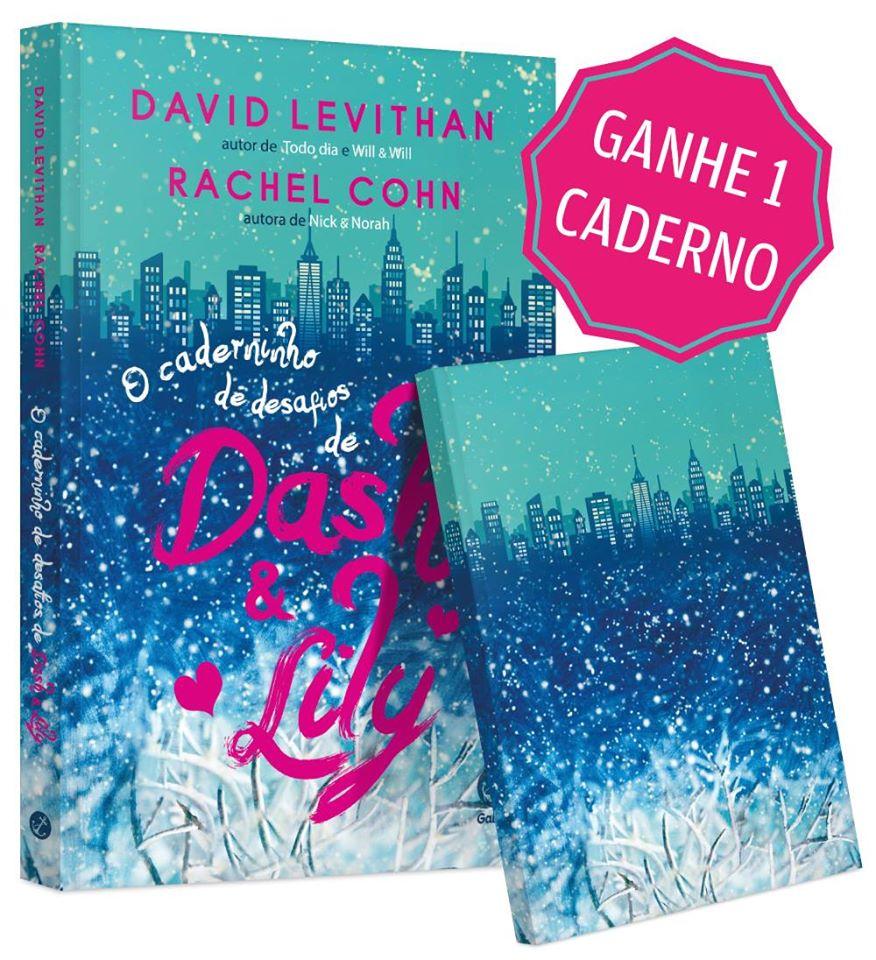 o caderninho de desafios de dash e lily - minha vida literaria
