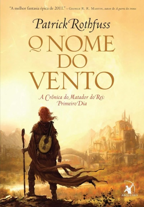 O Nome do Vento — Patrick Rothfuss