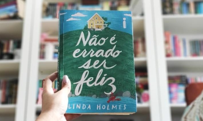 [Vídeo] Não É Errado Ser Feliz — Linda Holmes   Vlog de Leitura