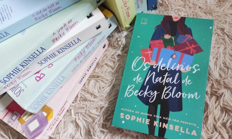 [Resenha] Os Delírios de Natal de Becky Bloom – Sophie Kinsella
