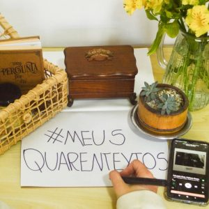 #MeusQuarentextos | Projeto de Escrita